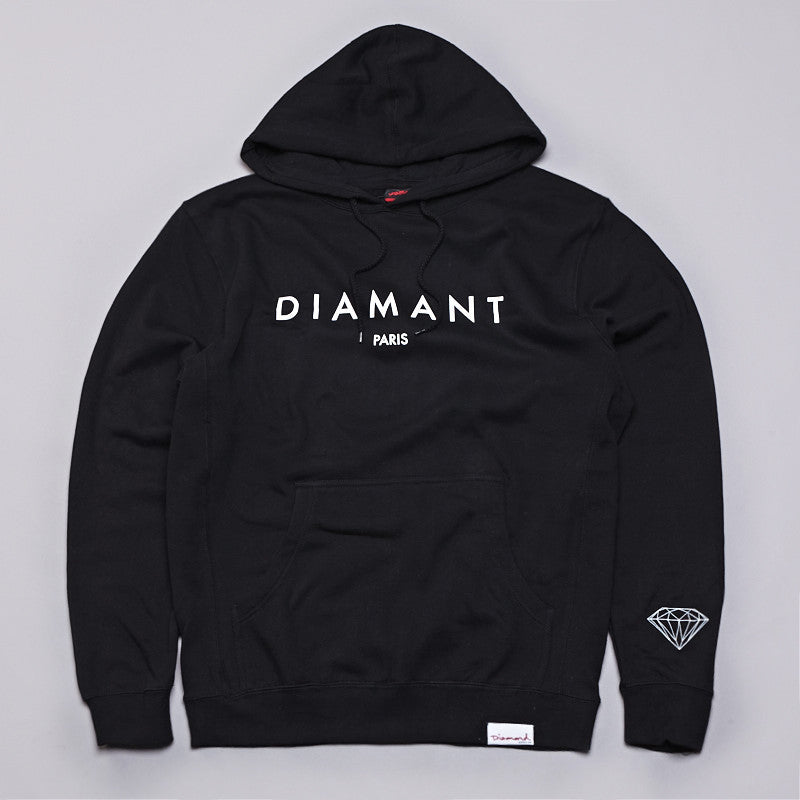 Diamond Diamant Paris Hooded Sweatshirt Black