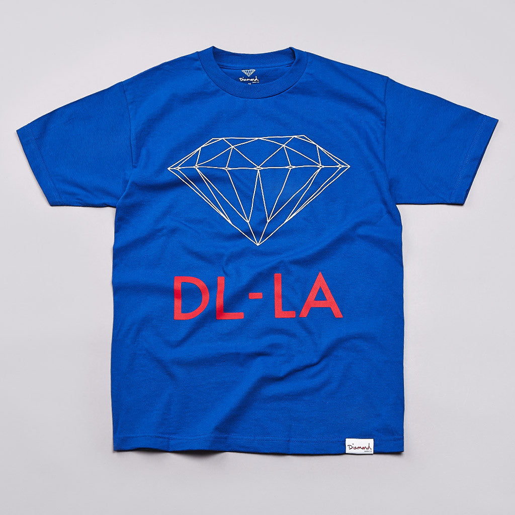 Diamond DL-LA T Shirt Royal Blue