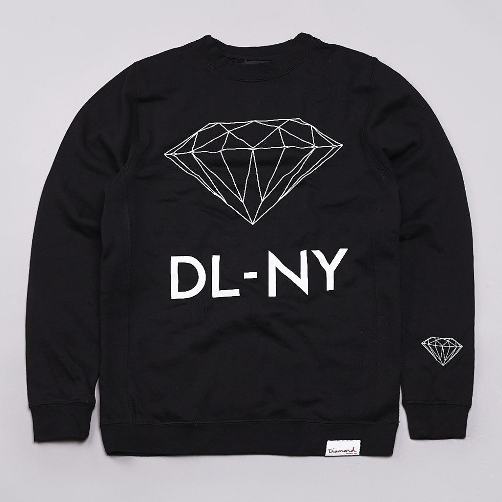 Diamond DL-NY Crew Neck Sweatshirt Black