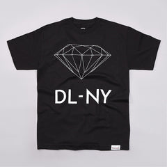 Diamond DL-NY T Shirt Black