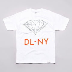 Diamond DL-NY T Shirt White