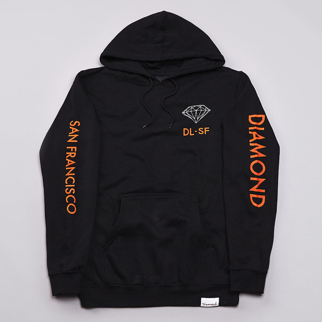 Diamond DL-SF Hooded Sweatshirt Black