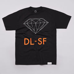 Diamond DL-SF T Shirt Black