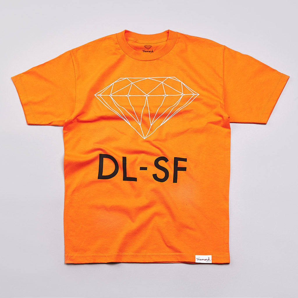 Diamond DL-SF T Shirt Orange