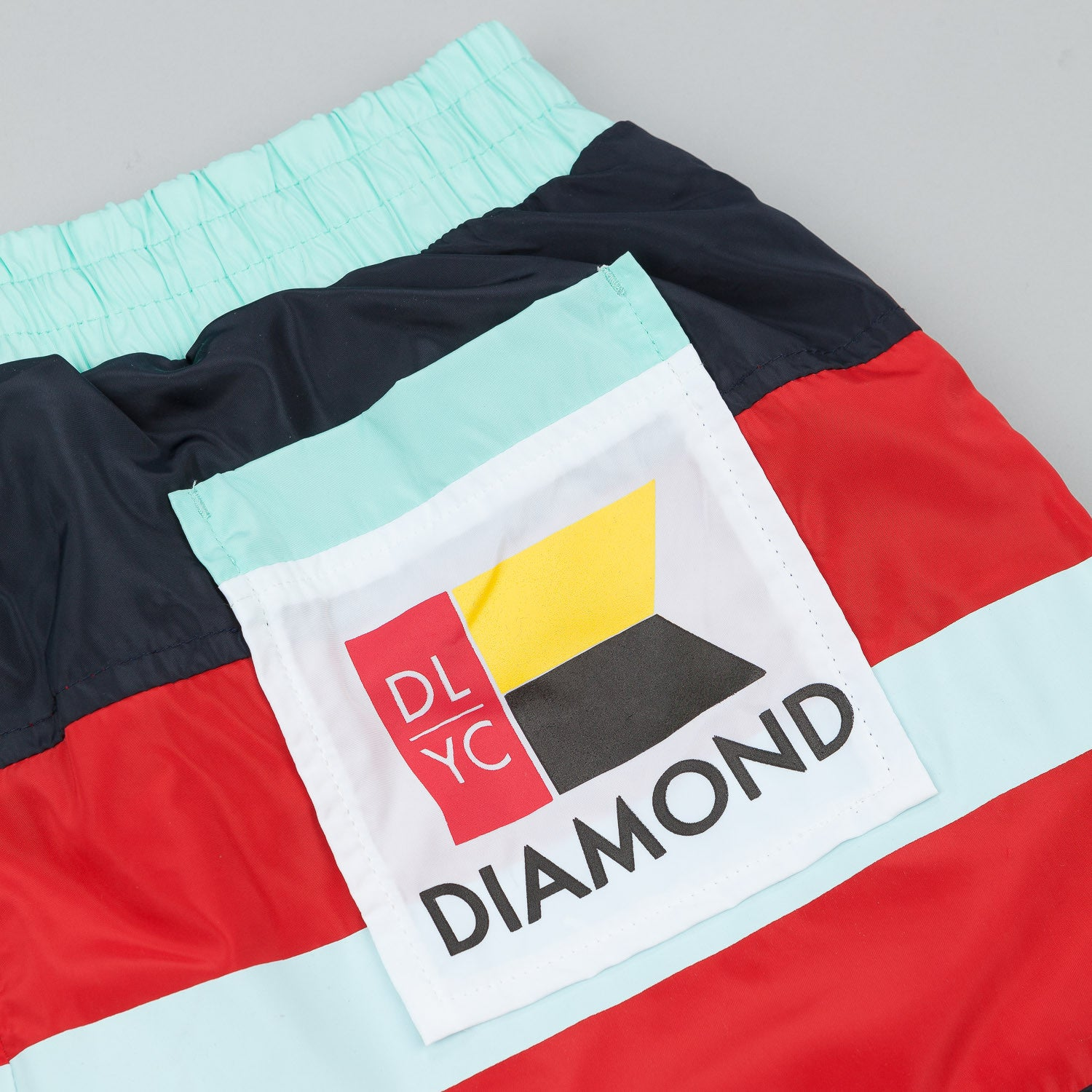 "Diamond DLYC Nylon Short 9-1/2"" - Navy"