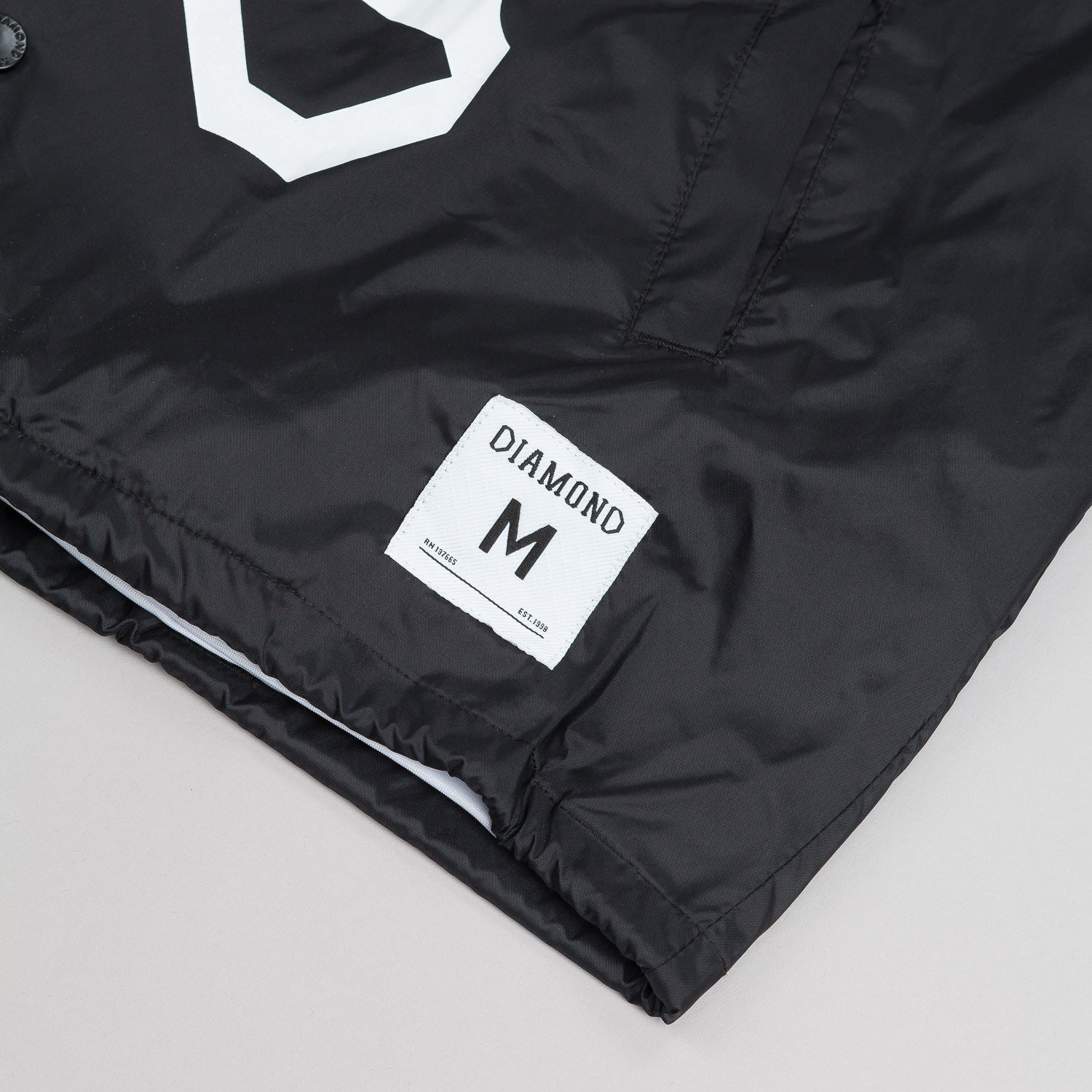 Diamond Dugout Coach Jacket - Black