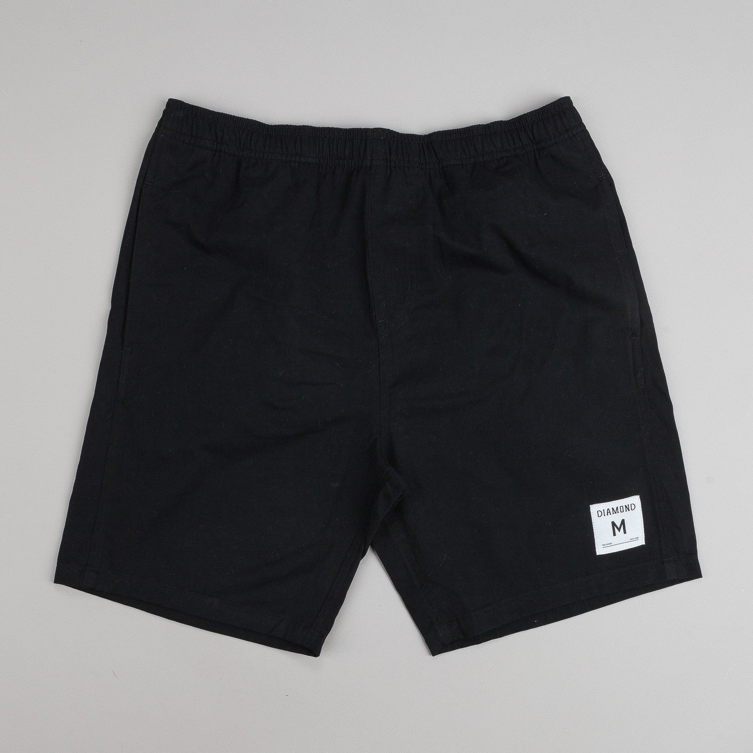 Diamond Dugout Shorts - Black