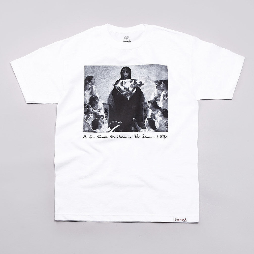 Diamond Eternal Pt2 T Shirt White