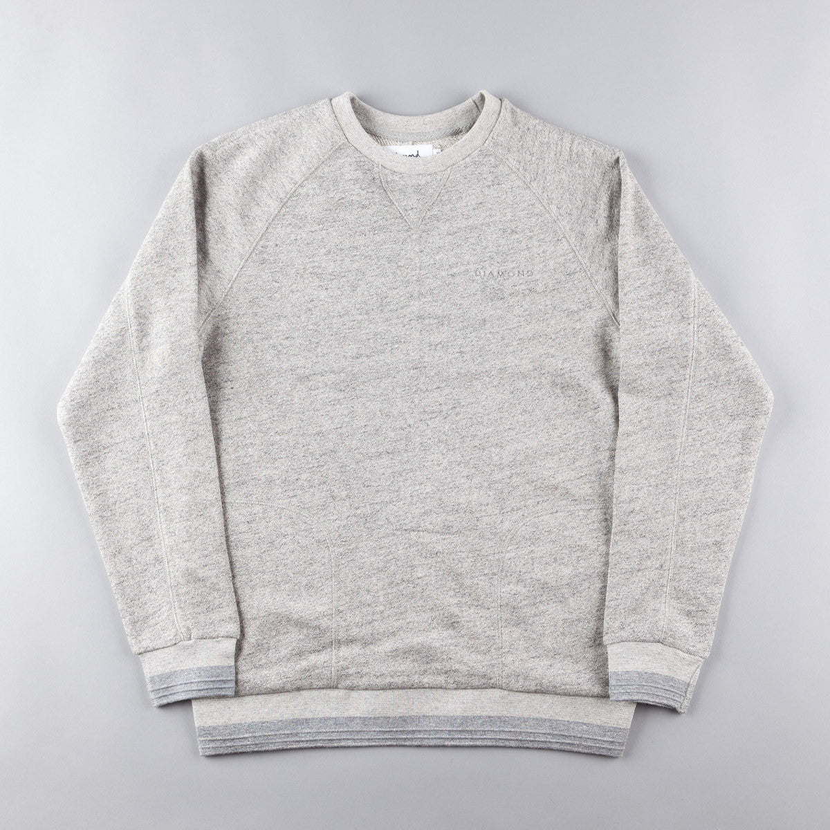 Diamond Facet Crewneck Sweatshirt