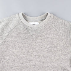 Diamond Facet Crewneck Sweatshirt - Quarry