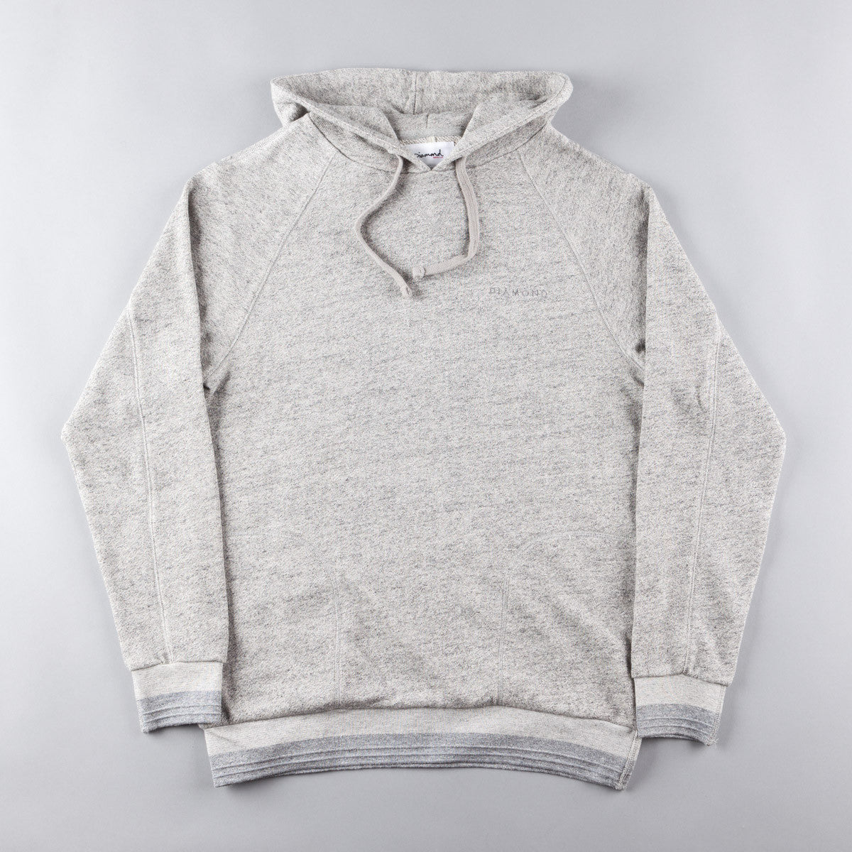 Diamond Facet Hooded Sweatshirt