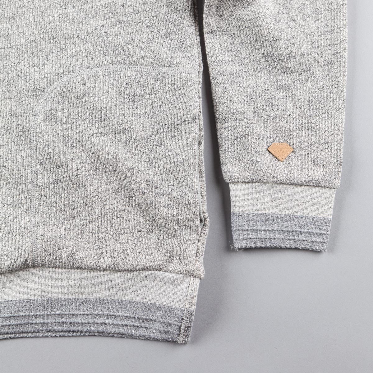 Diamond Facet Hooded Sweatshirt - Quarry