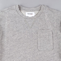 Diamond Facet Pocket T-Shirt - Quarry
