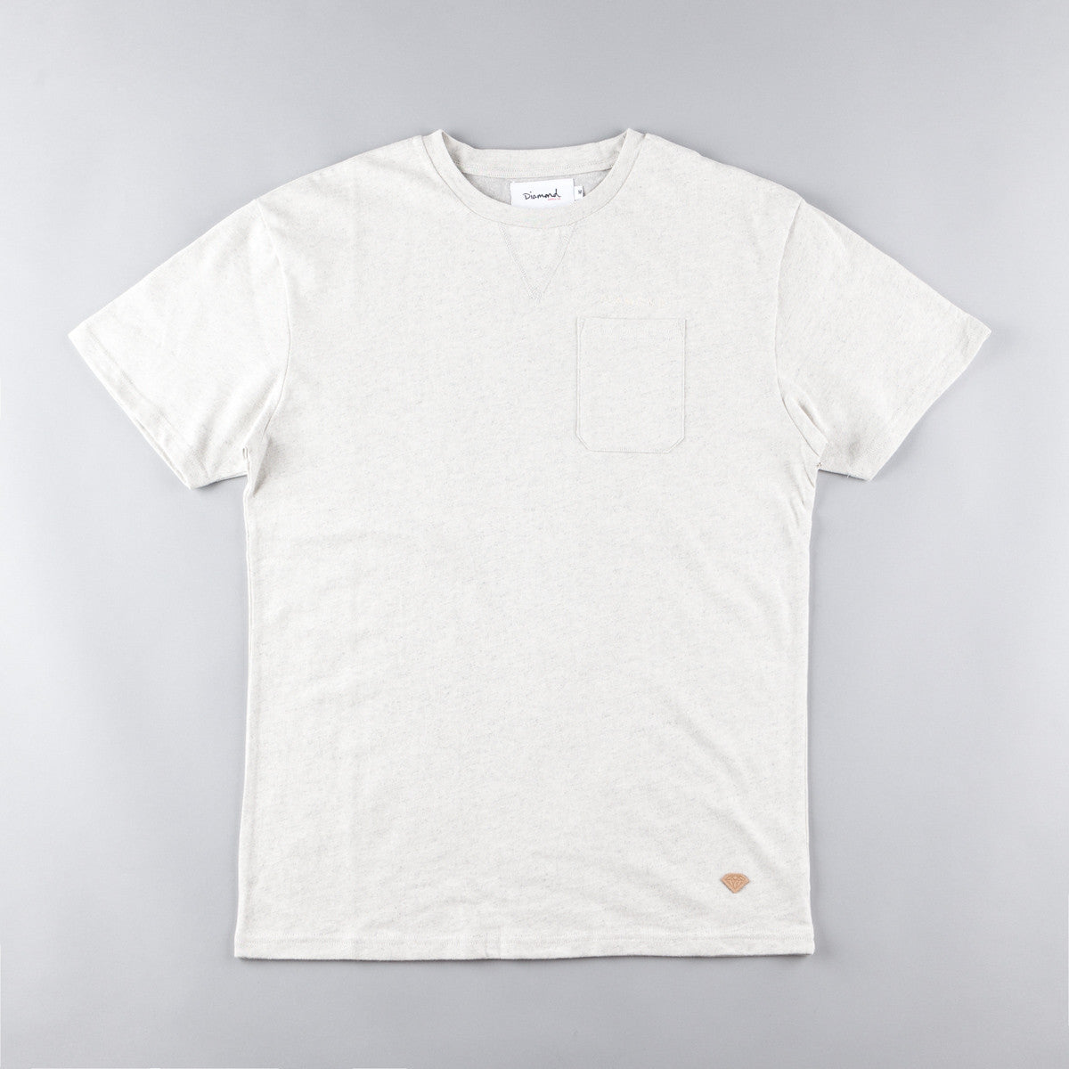 Diamond Facet Pocket T-Shirt