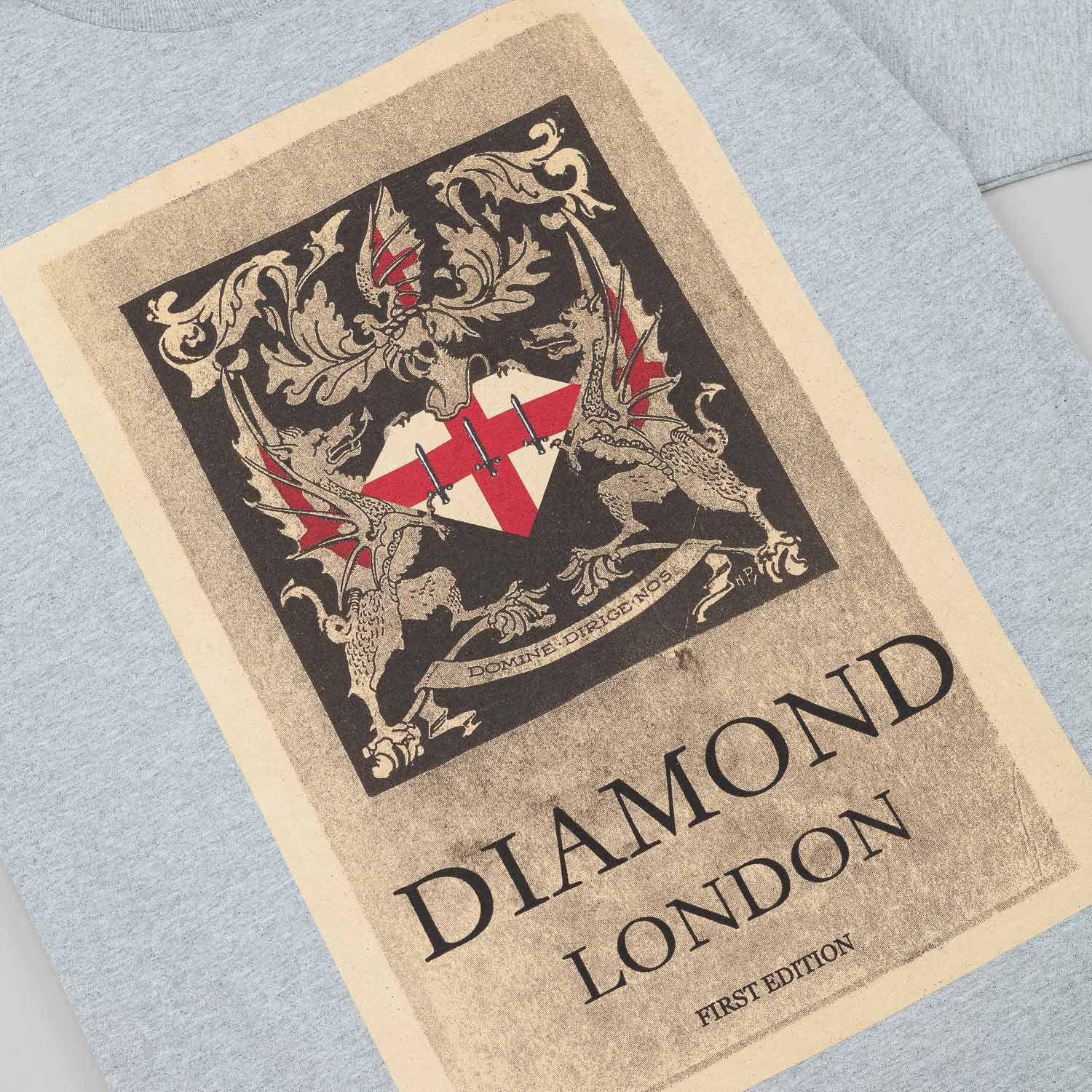 Diamond First Edition T-Shirt - Heather Grey