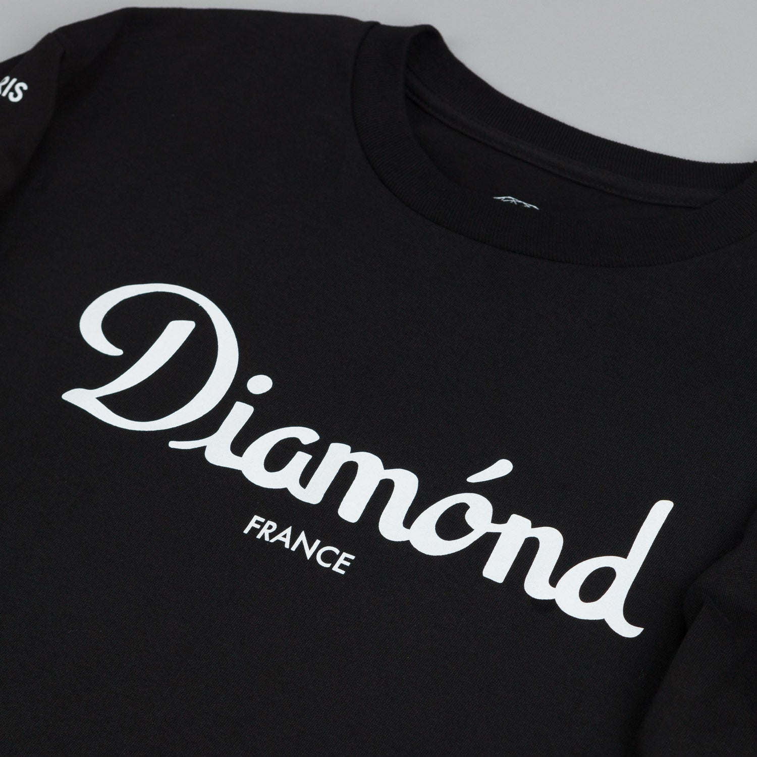 Diamond France Long Sleeve T Shirt Black