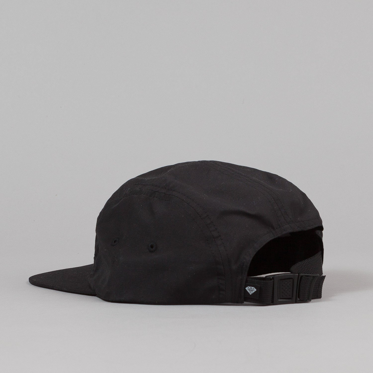 Diamond Glory Camp Cap - Black