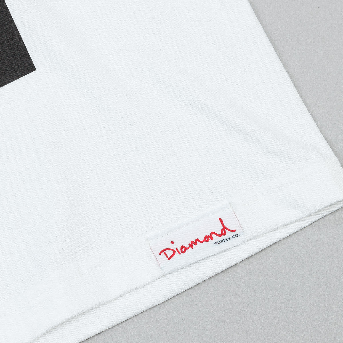 Diamond Half Diamond T-Shirt - White