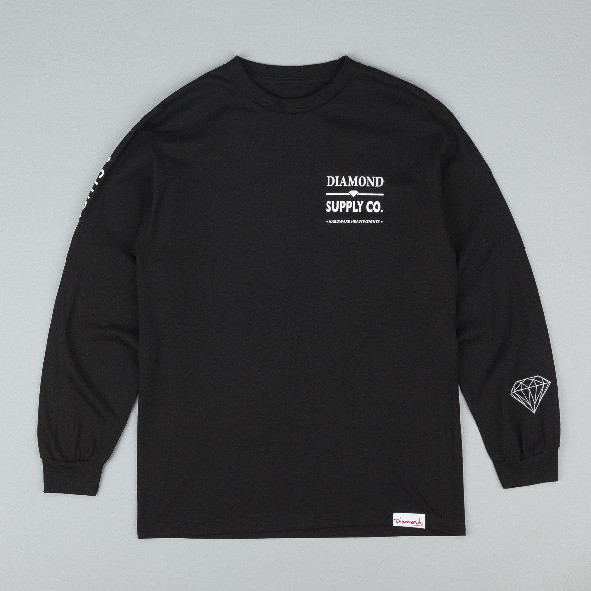 Diamond Hardware Lock Long Sleeve T-Shirt