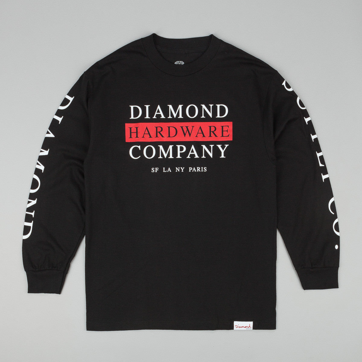 Diamond Hardware Stack Long Sleeve T-Shirt