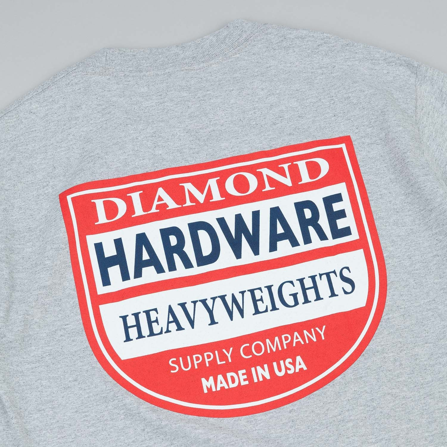 Diamond Hardware T-Shirt Heather Grey