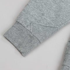Diamond Hookie Zip Hooded Sweatshirt - Heather Grey
