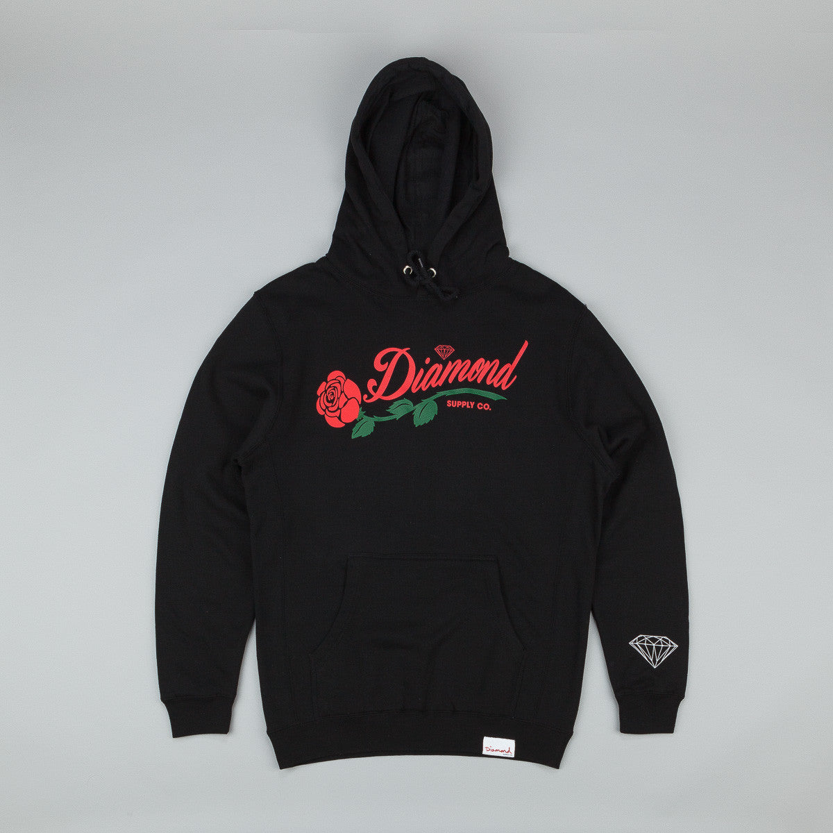 Diamond La Rosa Hooded Sweatshirt