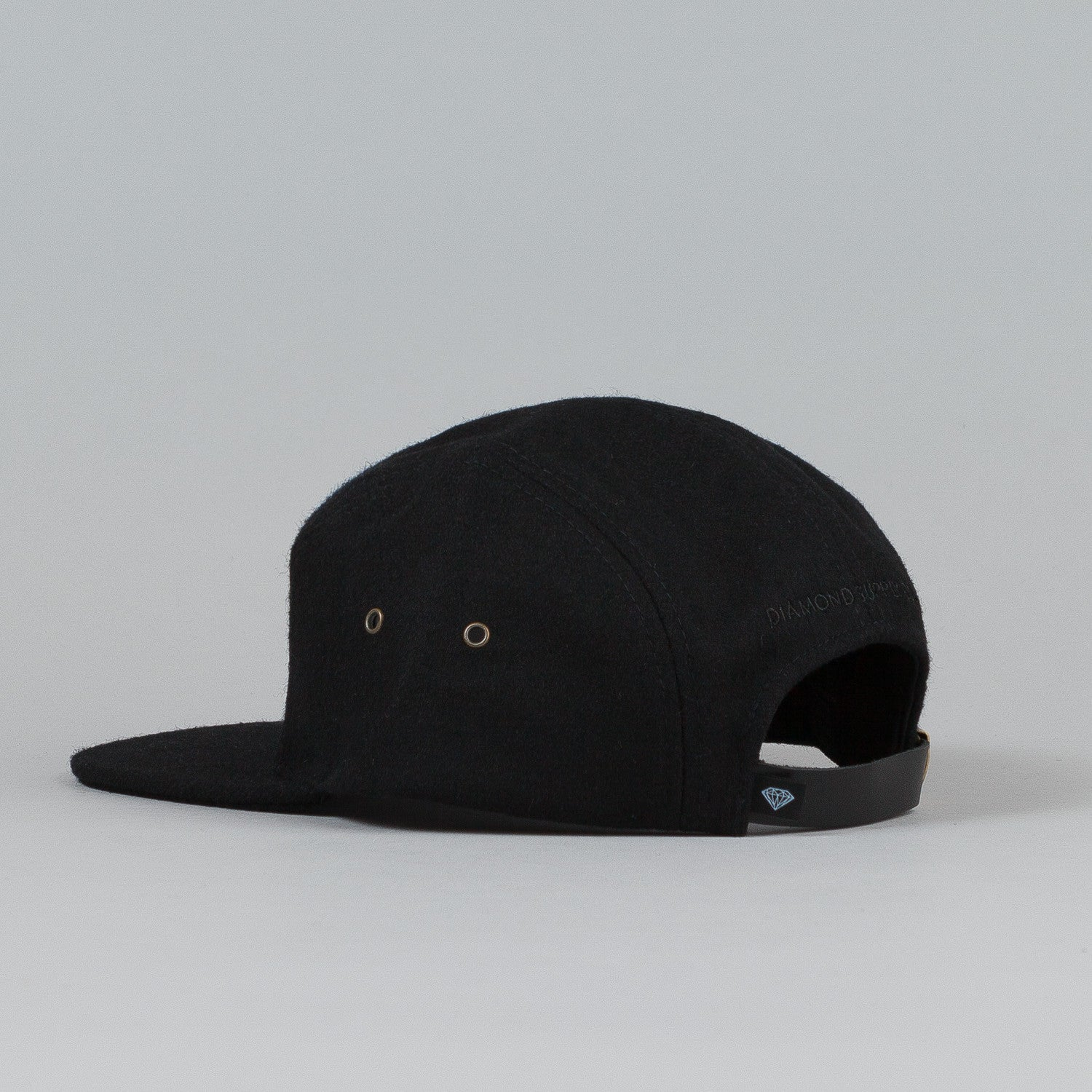 Diamond Melton 98 5 Panel Cap Black