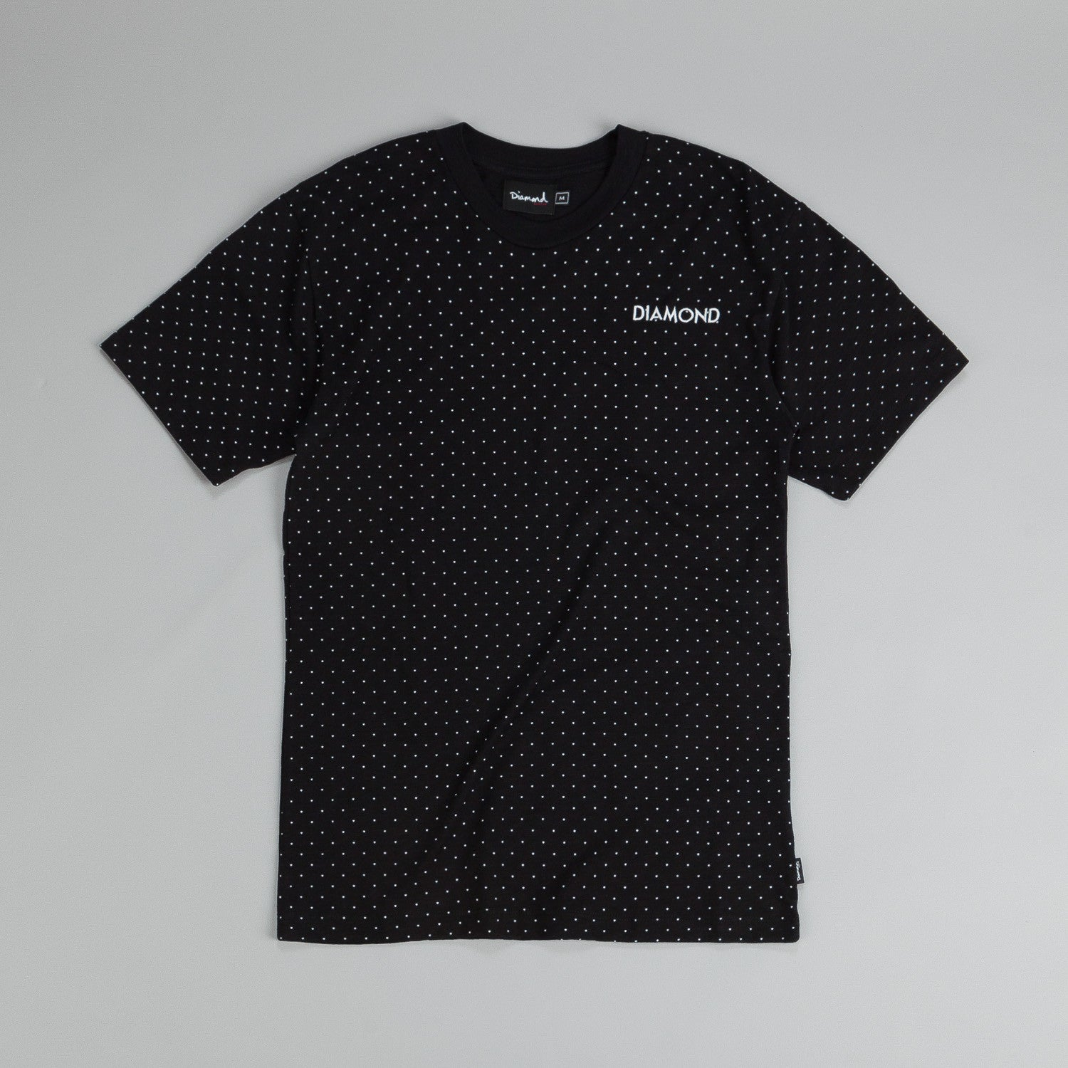 Diamond Micro Diamond T Shirt Black