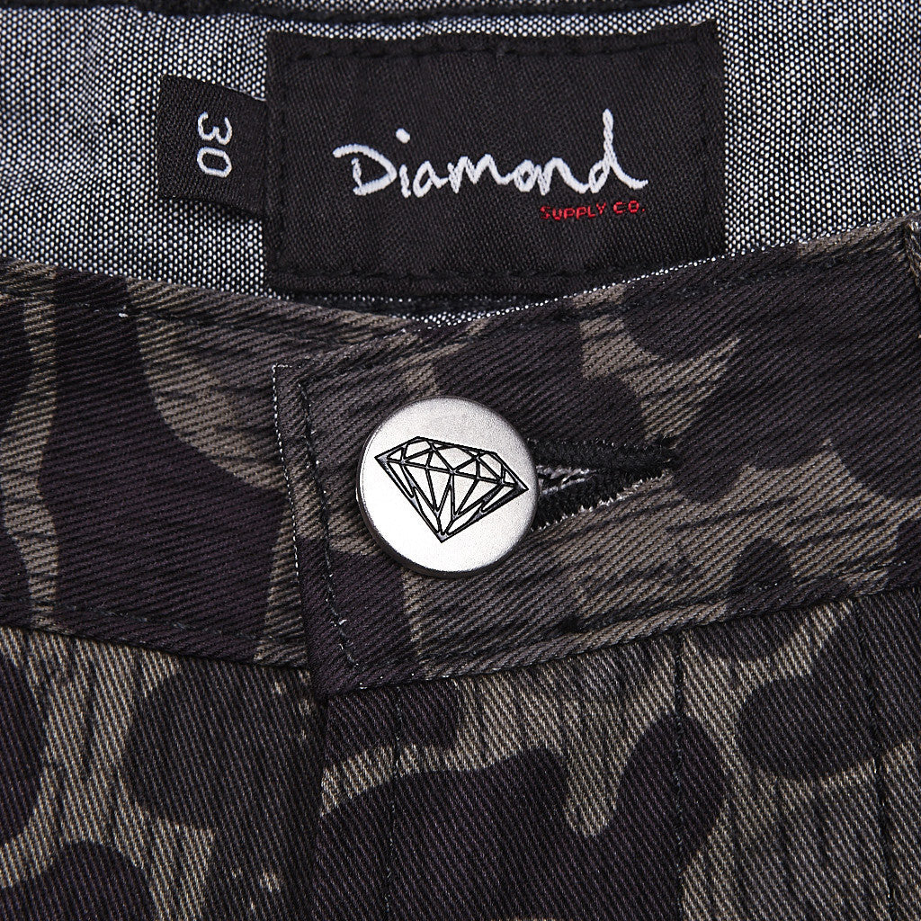 Diamond Military Chino Black Camo