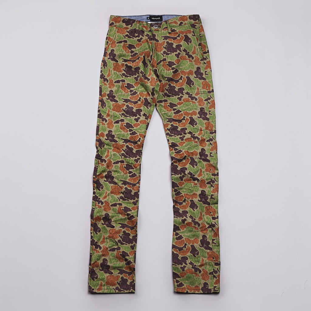 Diamond Military Chino Tan Camo