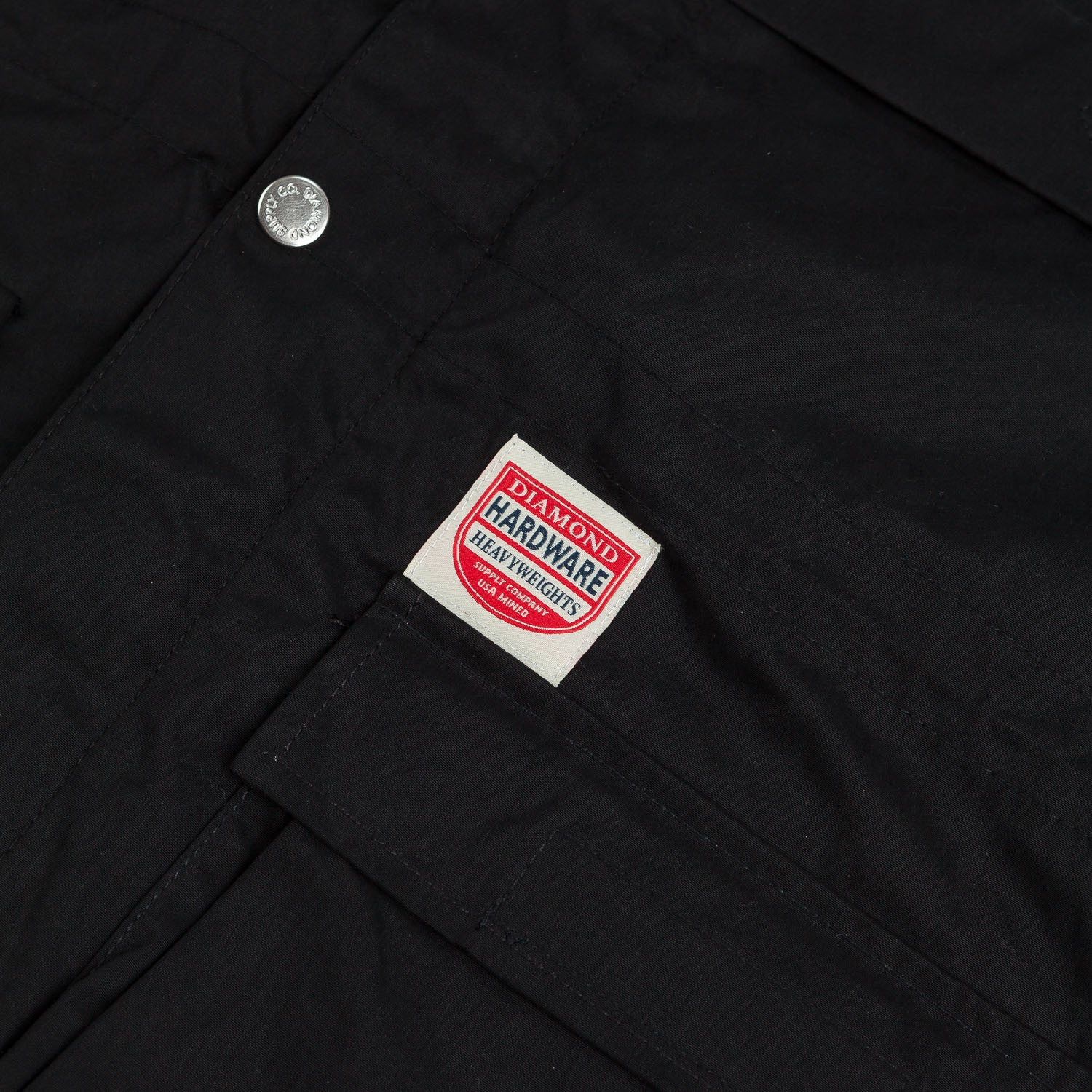Diamond Miner Jacket Black
