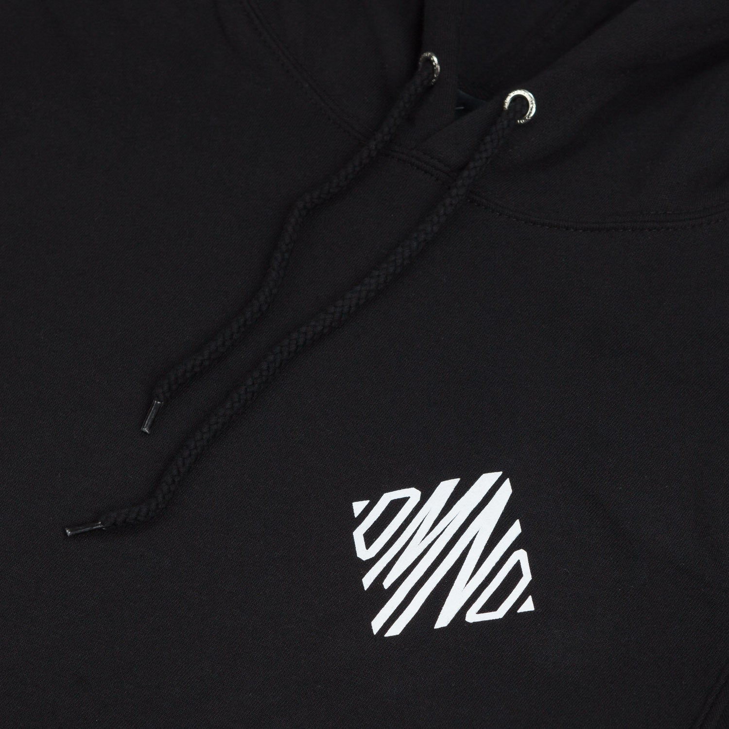 Diamond Monogram Hooded Sweatshirt Black