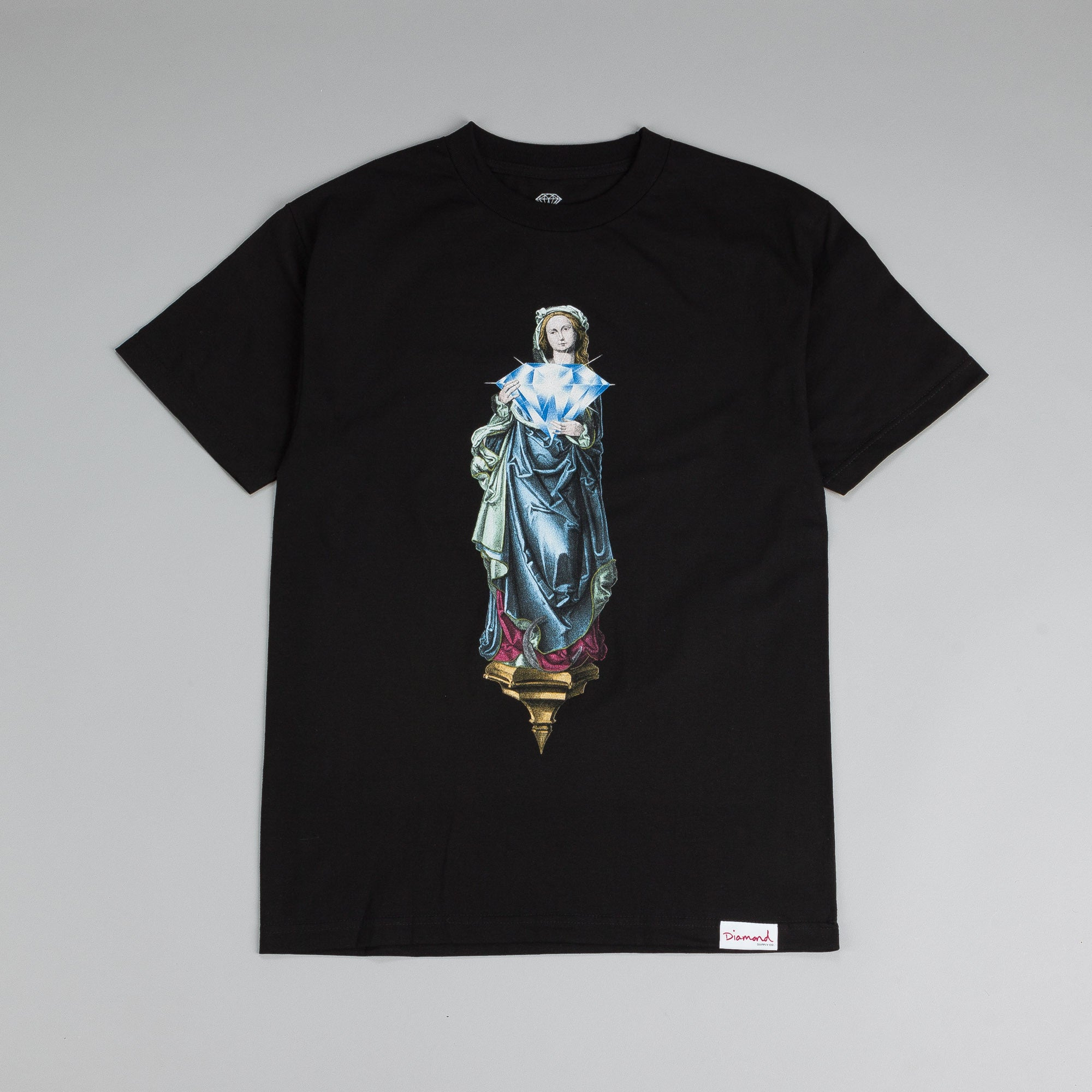 Diamond Mother T Shirt Black