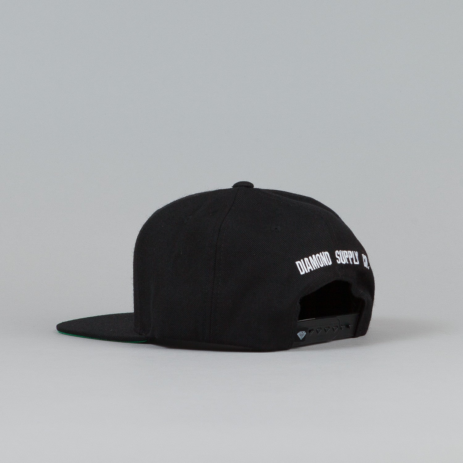 Diamond OG D Snapback Cap Black