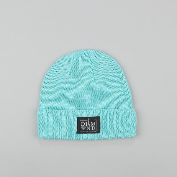 Diamond Paris City Cuff Beanie Diamond Blue