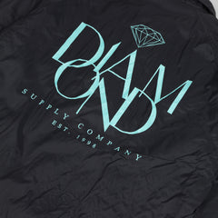 Diamond Parisian Coach Jacket - Black