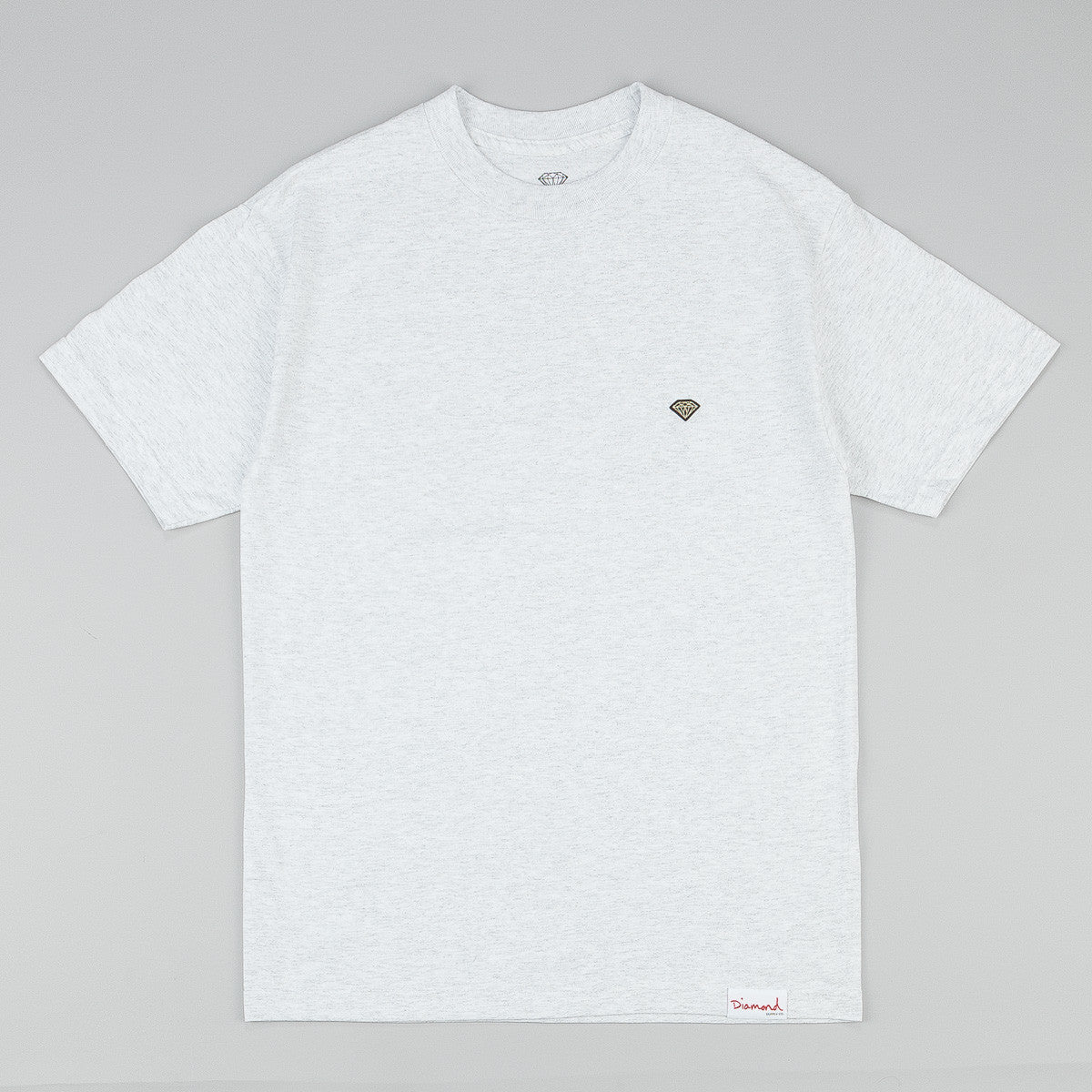Diamond Patch T-Shirt - Ash