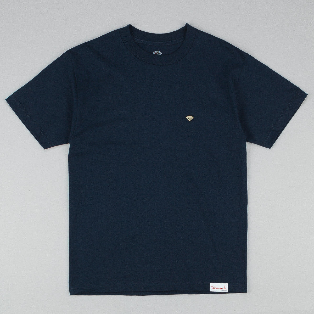 Diamond Patch T-Shirt - Navy
