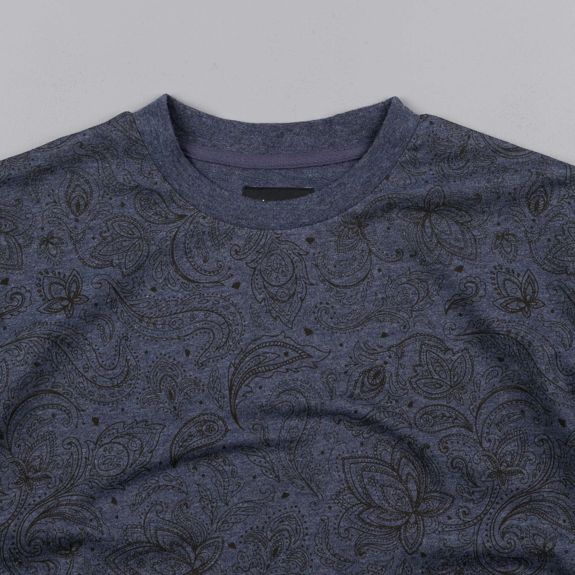 Diamond Radiant Loop T-Shirt - Heather Navy