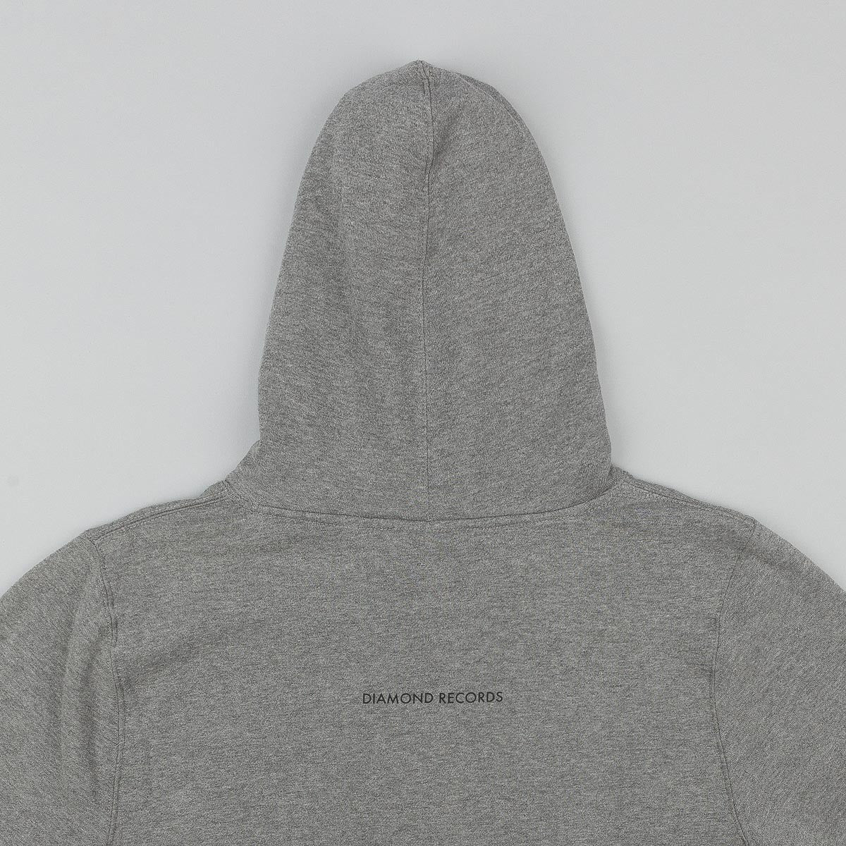 Diamond Records Hooded Sweatshirt - Gunmetal Heather