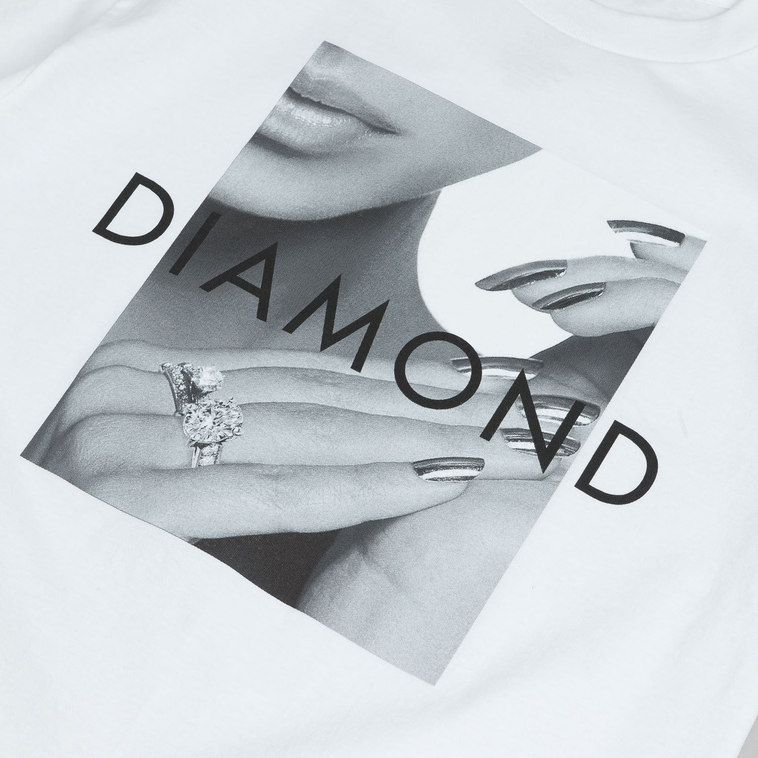 Diamond Ring Girl T-Shirt - White
