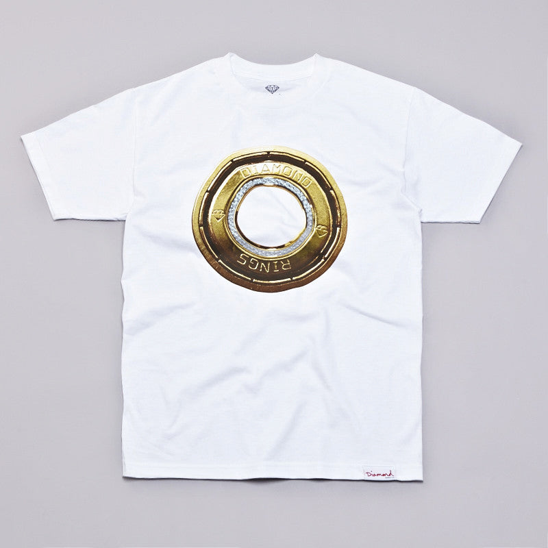 Diamond Ring T Shirt White