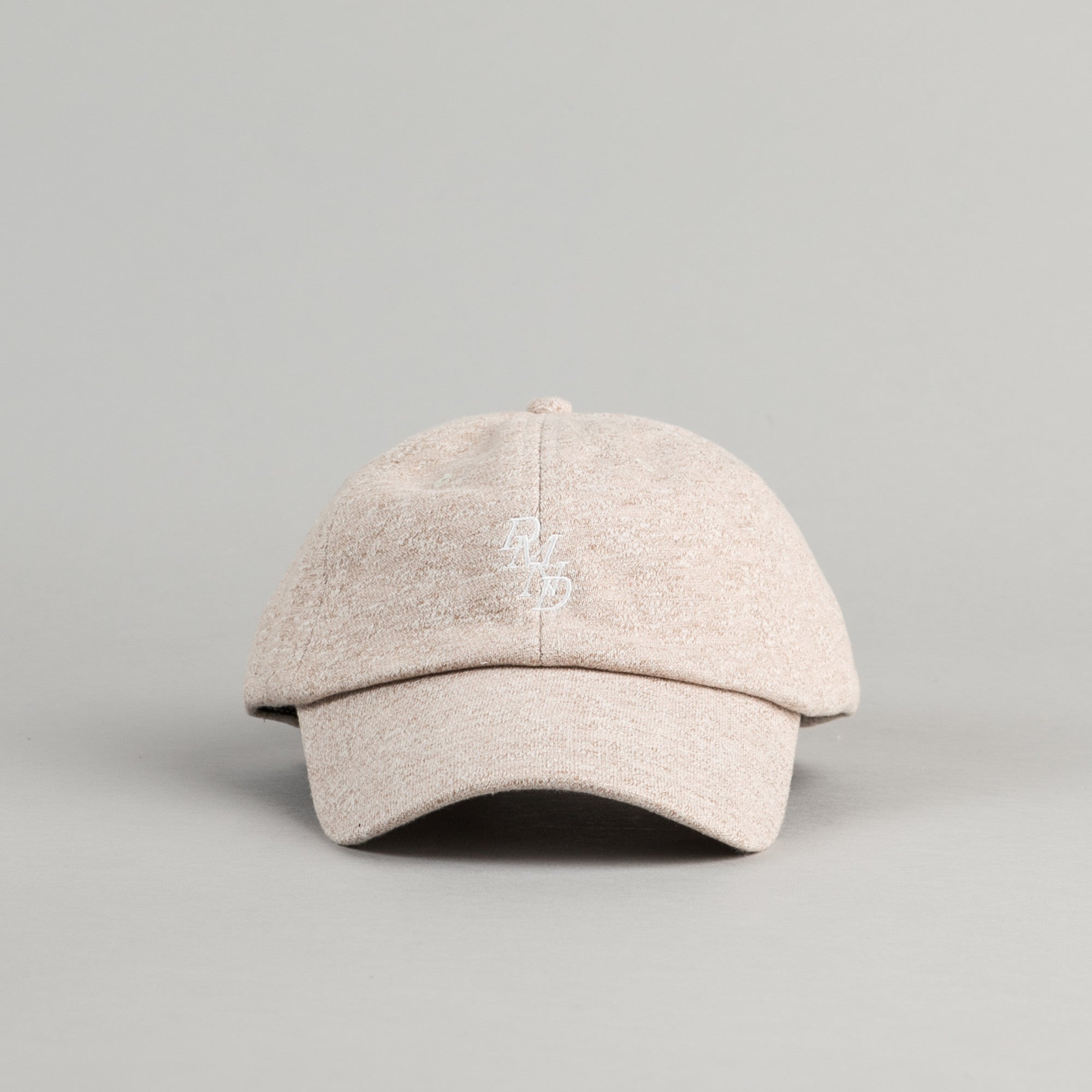 Diamond Serif Sports Cap - Heather Brown