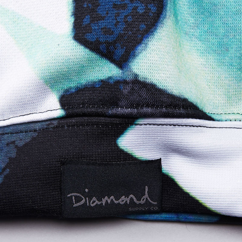 Diamond VVS Simplicity Hooded Sweatshirt - Blue