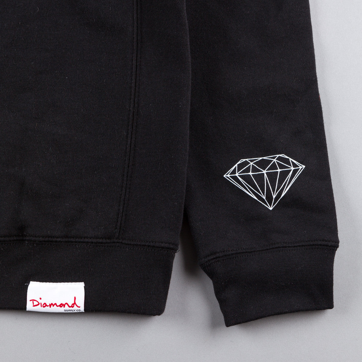 Diamond Skate Hardware Crewneck Sweatshirt - Black