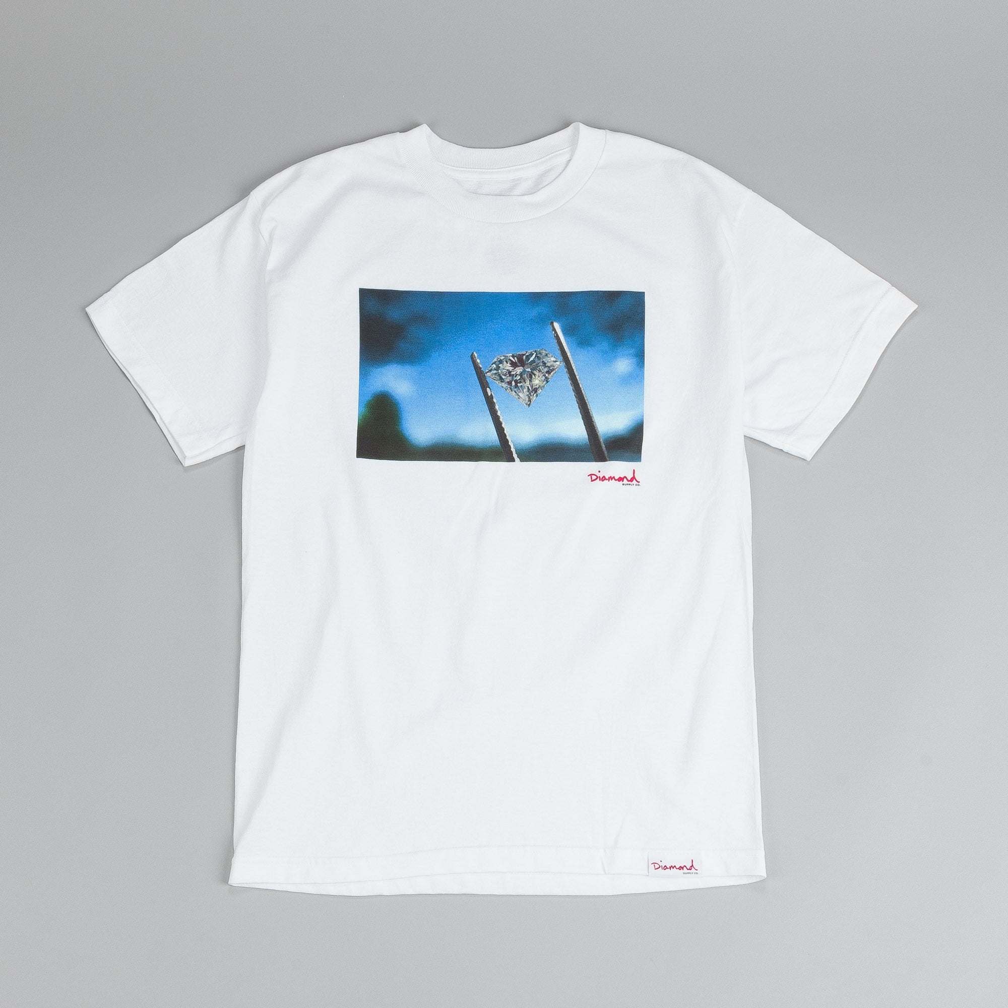 Diamond Sky T Shirt White