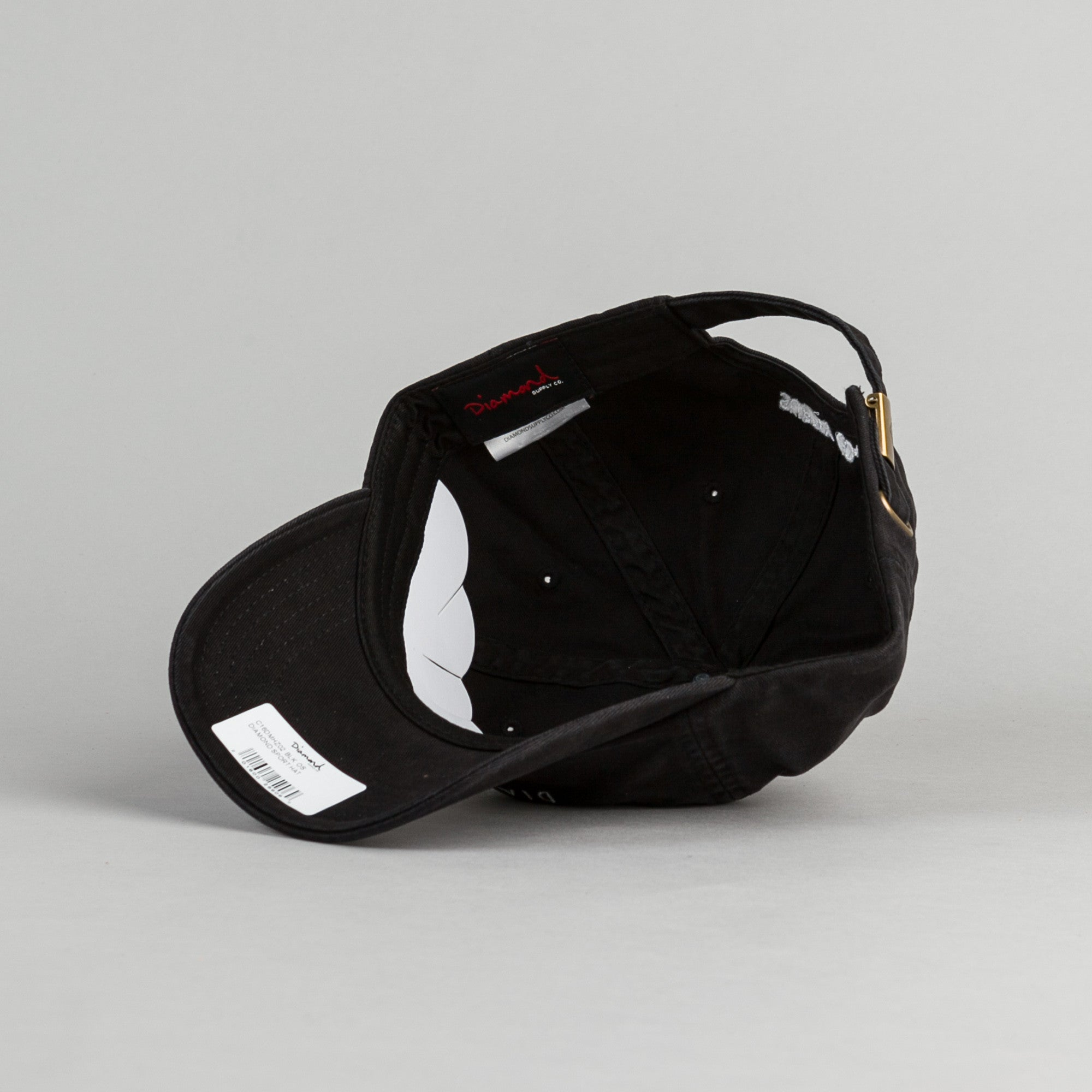 Diamond Sports Strapback Cap - Black