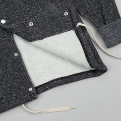 Diamond Stone Cut Fleece Coach's Jacket - Pepper