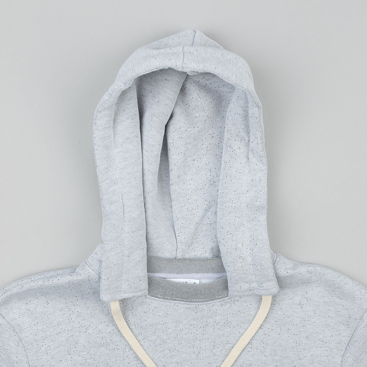 Diamond Stone Cut Hooded Sweatshirt - Salt